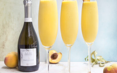 Prosecco DOC Cocktails: Frozen Bellinis